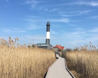 Fire Island Lighthouse canvas