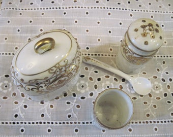 Nippon Mustard Pot/Condiment Set - Item #1435