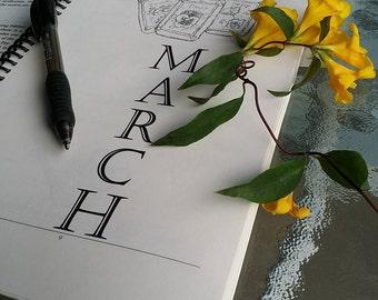 Spring Planner 2017