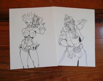 REDUCED | Clowns Flyer Art