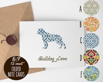 American Bulldog Note Cards