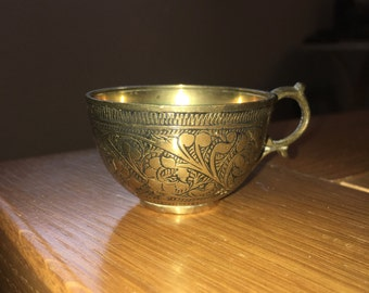 Small Brass Cup