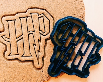 cc0408 Harry Potter Cookie Cutter cookiecutter cookies any shape any size