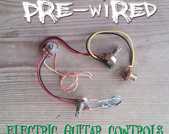 Pre-Wired Guitar Controls