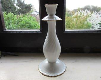 ALKA KUNST Albot & Kaiser Candle Holder Candlestick Bavaria Porcelain  Vintage Retro 50's ?