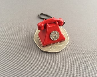 One twelfth scale dollshouse miniature Telephone