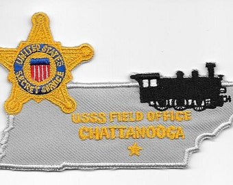 US Secret Service USSS Tennessee Chattanooga Field Office Agent Service Patch
