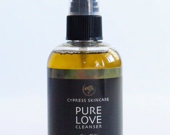 Pure Love Cleanser is the last cleanser you'll use.  Gentle even on the most sensitive skin.  Lifts away makeup and toxins from the day