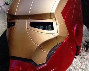 IRON MAN helmet- UV lenses