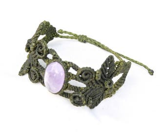 Macrame Bracelet - Nature
