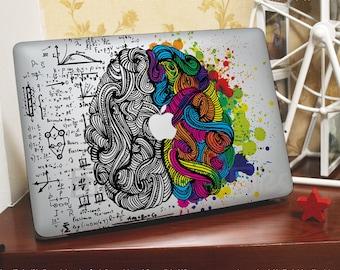 Mac book decal **Brain** Macbook Pro Stickers/Mac Decal/Mac Sticker for Apple Laptop/Macbook Pro Air/iPad Air Mini