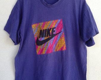 Rare Vintage Nike wild tshirt gray tag XL