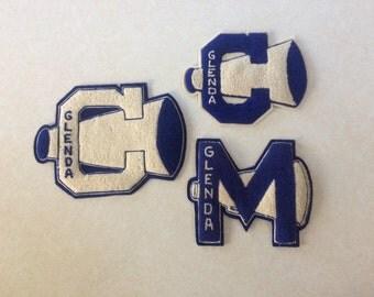 Cheerleader Letters / C / M / Glenda