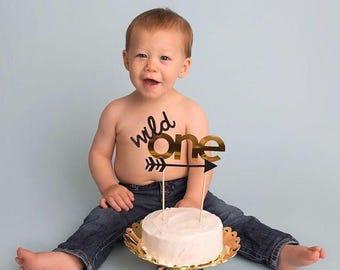 Wild One Cake Topper // Wild One Birthday Decor // First Birthday Boy // First Birthday Girl // Tribal Theme Birthday // Boho First Birthday