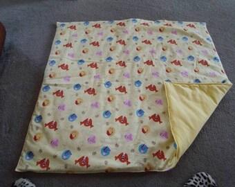 Pooh blanket
