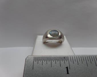 Vintage Sterling Silver Ring w/ Moonstone / FDM