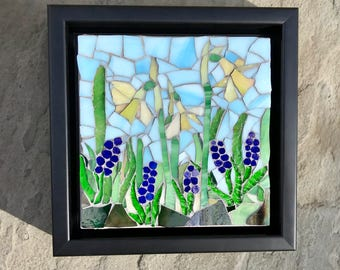 Spring Has Sprung: Stained Glass Mosaic Wall Art