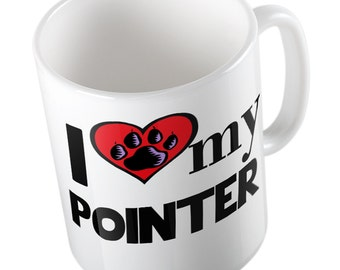 I love my Pointer Mug
