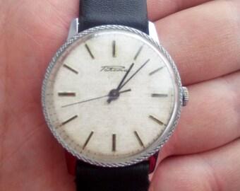 Raketa, soviet watch, mechanical watch, white watch, USSR watch