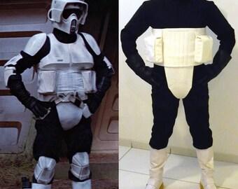 Star Wars - Biker Scout Trooper- Complete Soft Parts - Costume Prop Armor Cosplay