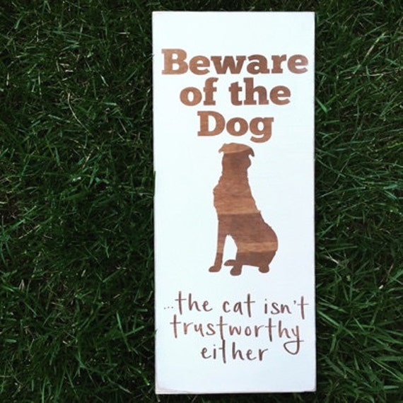 Beware of Dog (and Cat) - STOCK SALE - In Stock, Ready to Ship!