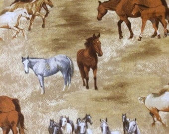 Wild Horses Fabric By The Yard