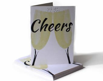 Cheers Mother's Day Greeting Card