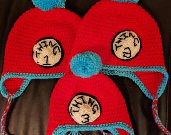 Thing 1 & Thing 2 Hat