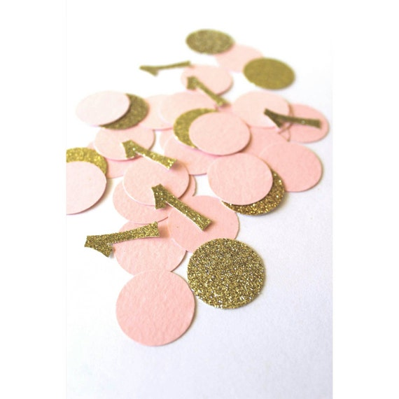First Birthday Party Decorations Pink And Gold 1st