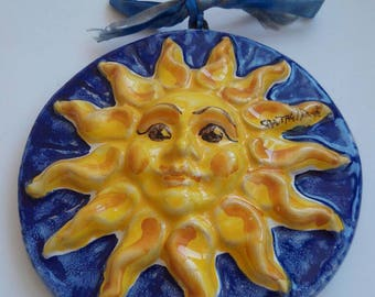 Sunshine Caltagirone's ceramic hand painted