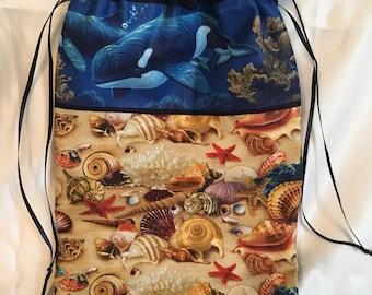 Ocean Love extra large Tarot bag