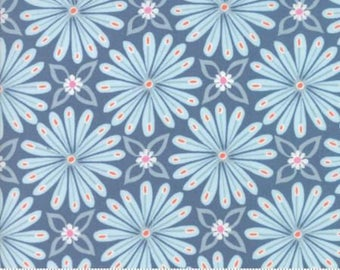 Early Bird in Aurora Denim by Kate Spain for Moda - 1/2 yard
