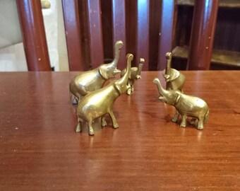 Vintage copper elephant, vintage elephants, copper figurines, elephant figurines, copper elephant figurines, elephant statuettes