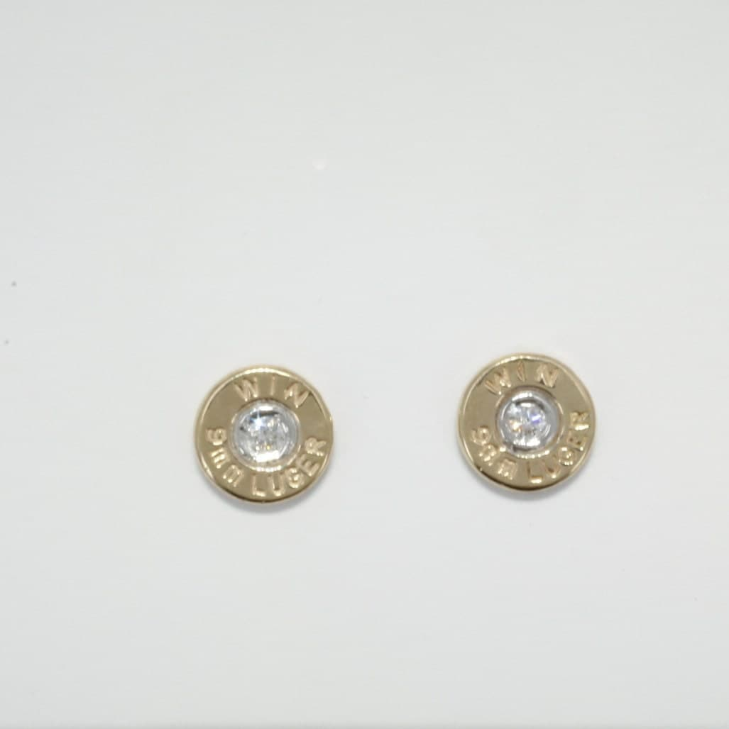 bullet jewelry 9mm gold bullet jewelry earrings winchester 174