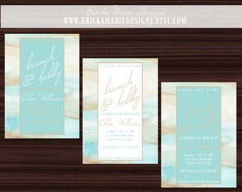 Wedding Invitations |  Bridal Invitations | The Chloe Bridal Collection