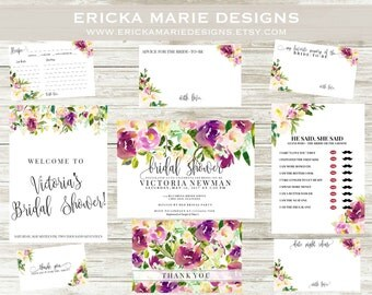 Wedding Invitations | Bridal Shower Invitations | The Ashleigh Bridal Collection