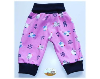 Baby bloomers pink Baltic Sea North Sea Gull 50/56