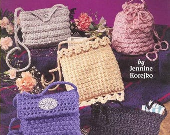 1305 Jennine Korejko Purses on the go Crochet purses Crochet accessories Pdf file