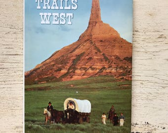 free domestic shipping--Trails West National Geographic Society 1979