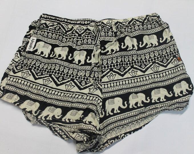 Ladies Khushi Shorts - Elephant