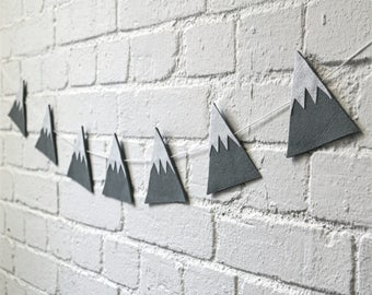 Felt Mountain Garland