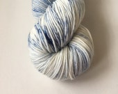 Sock Hand Dyed Australian 80/20 Merino nylon Revelry Sock Fingering 4 ply Knitting Yarn Antarctic Prion