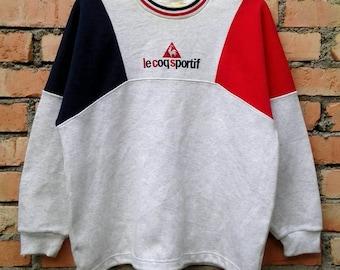 Rare!!! Le Coq Sportif Pullover Sweatshirt