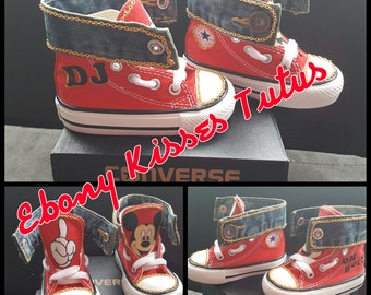 Custom Mackey Mouse Converse