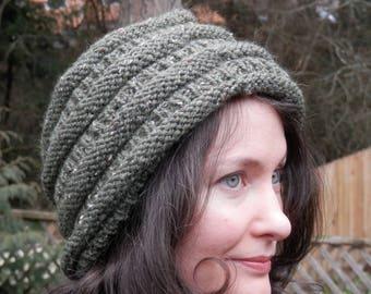 Hand Knit Women's Slouchy Hat