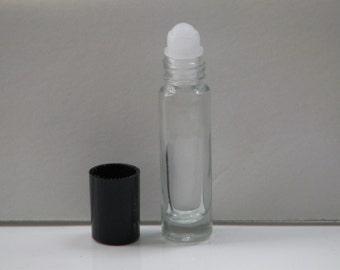 Amber White Essential Oil Fragrance Perfume Body Oil 1/3oz Roll On (U)