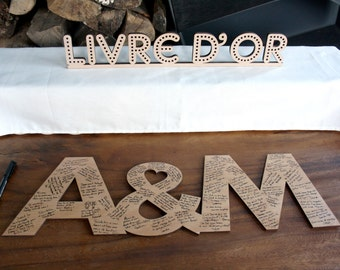 Guest book original wooden wedding guest book original giant wedding wooden letters guestbook letters wedding guestbooks guest book sign