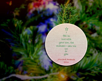 Mother In Law Ornament Mother In Law Christmas Ornament Rustic Christmas Ornaments For Mother In Law