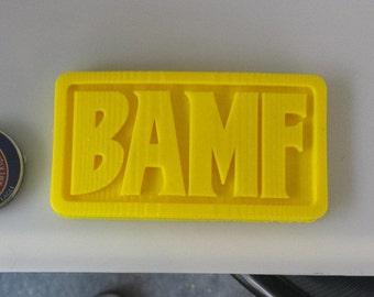 McCree Bamf Belt Buckle