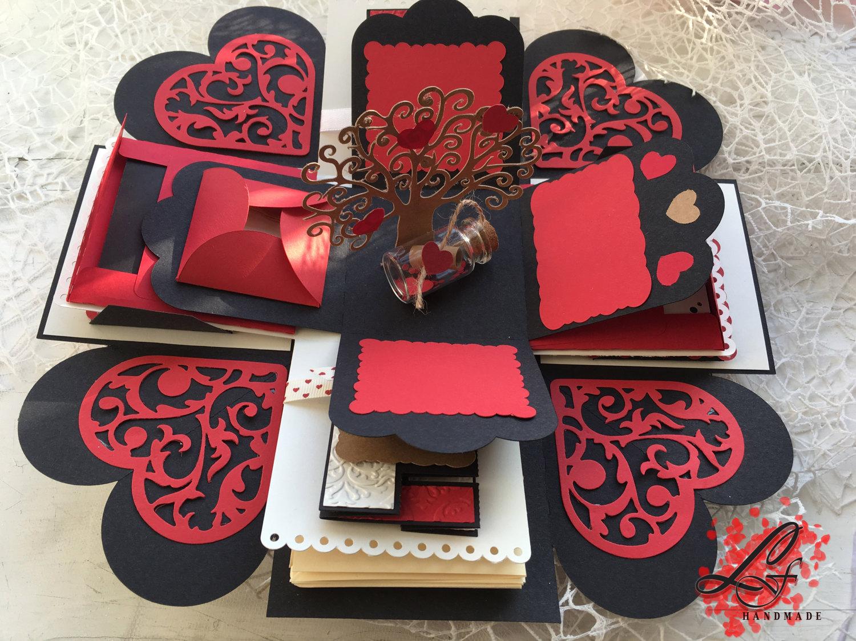 Love Exploding Box Photo Box Explosion Photo Box Perfect